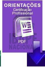 Currículo - Certificação